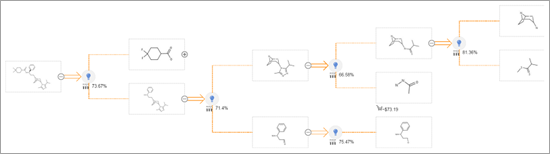 ChemPlanner synthesis example