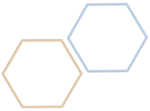 two hexagons