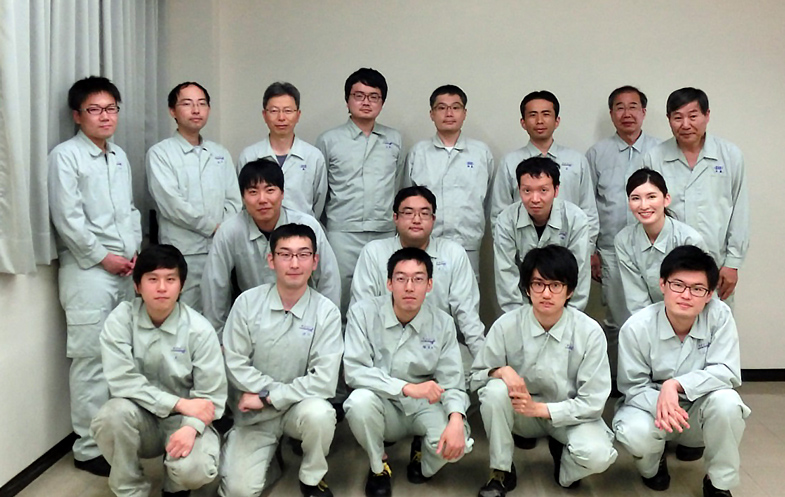 Konishi Chemical staff photo
