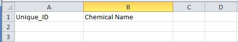 Example of Excel spreadsheet submission for CAS RN Verified Partner Program