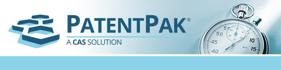 Logo for PatentPak in STN