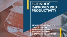 Scifinder-n Improves R&D Productivity