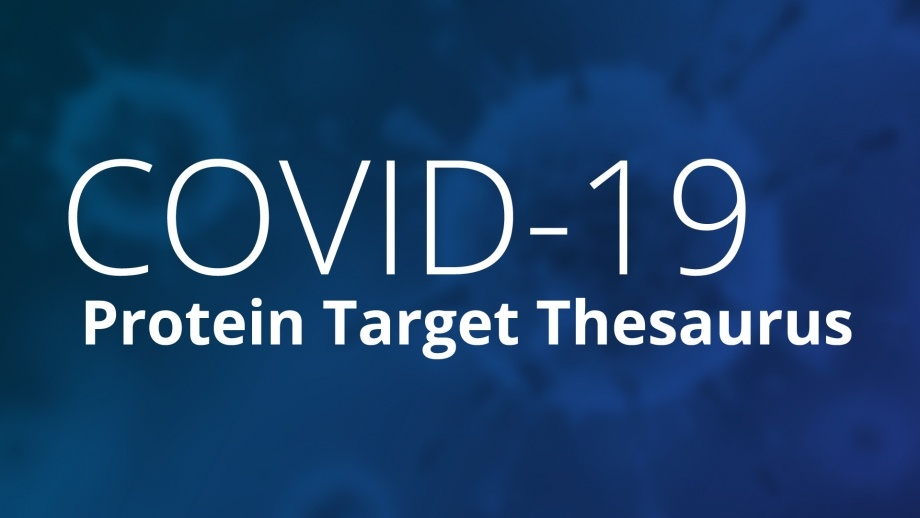 CAS COVID-19 Protein Target Thesaurus cover image